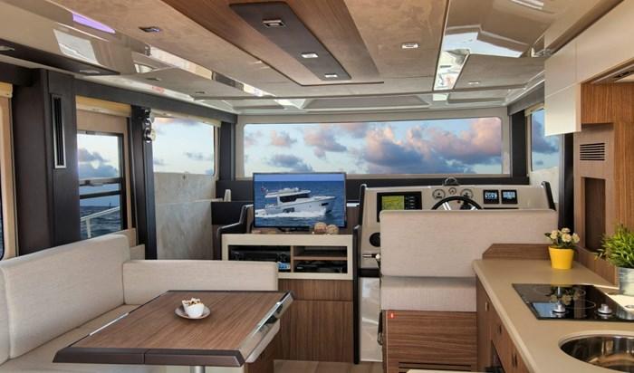 2015 Cranchi Eco Trawler 43 longue distance Photo 13 of 17
