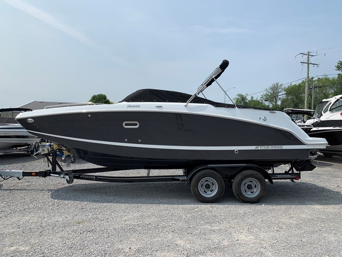 2020 Four Winns HD 240 Mercruiser 6.2L B3 00HP Tandem Trailer Photo 32 of 32