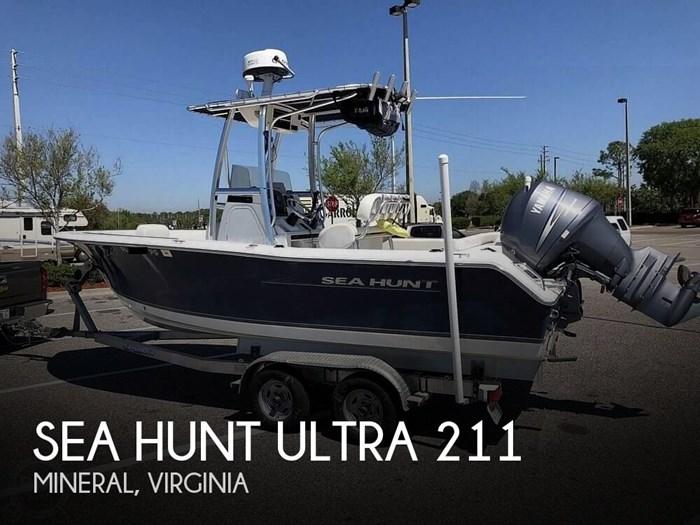 2012 Sea Hunt Ultra 211 Photo 1 of 20