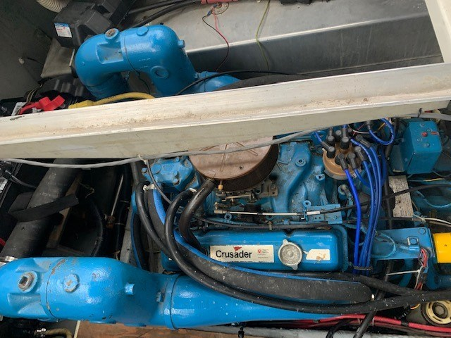 1986 Carver 28 Voyager Photo 17 of 18