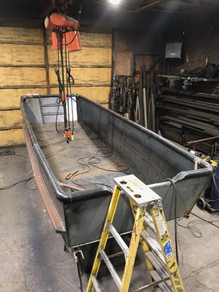 2020 17' x 5'6 Steel Work Boat Photo 9 sur 10