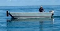 2020 17' x 5'6 Steel Work Boat Photo 3 sur 10
