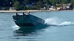 2020 17' x 5'6 Steel Work Boat Photo 2 sur 10