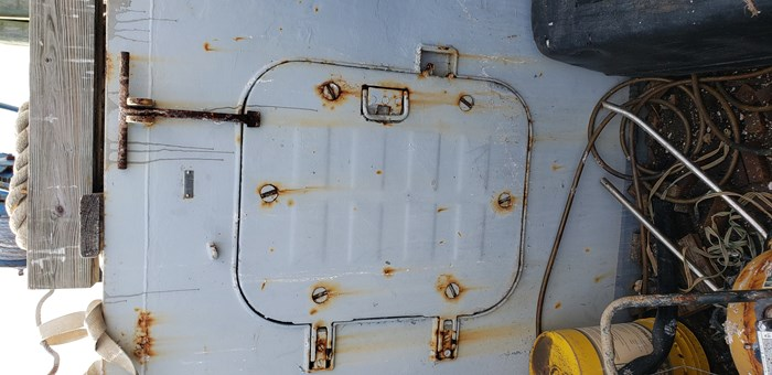 1987 1987 50′ x 14′ x 3′ Steel Work Boat/Cargo Tug - NEW PRICE Photo 19 sur 27