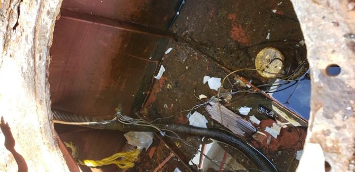 1987 1987 50′ x 14′ x 3′ Steel Work Boat/Cargo Tug - NEW PRICE Photo 10 sur 27