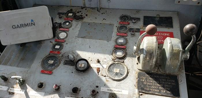 1987 1987 50′ x 14′ x 3′ Steel Work Boat/Cargo Tug - NEW PRICE Photo 23 sur 27