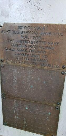 1987 1987 50′ x 14′ x 3′ Steel Work Boat/Cargo Tug - NEW PRICE Photo 6 sur 27