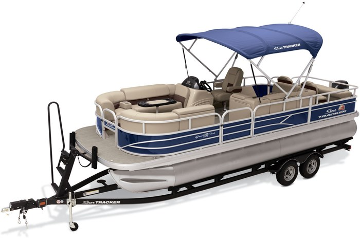 2019 Sun Tracker Sport Fish 22 DLX Photo 2 of 23