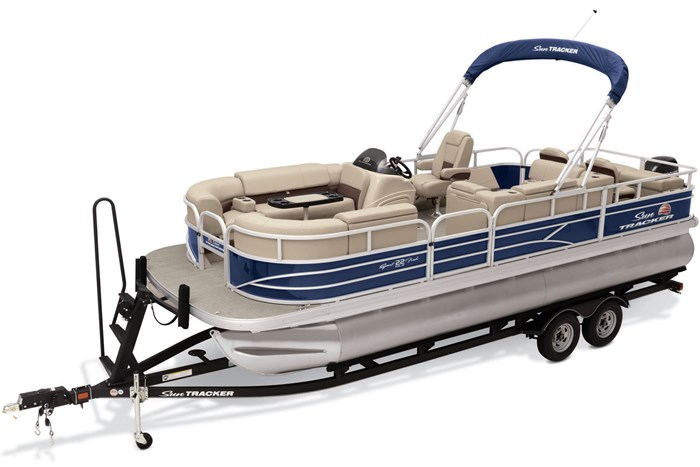 2019 Sun Tracker Sport Fish 22 DLX Photo 3 of 23