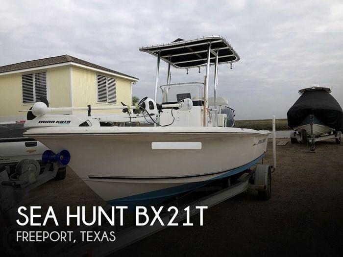2007 Sea Hunt BX21T Photo 1 of 20