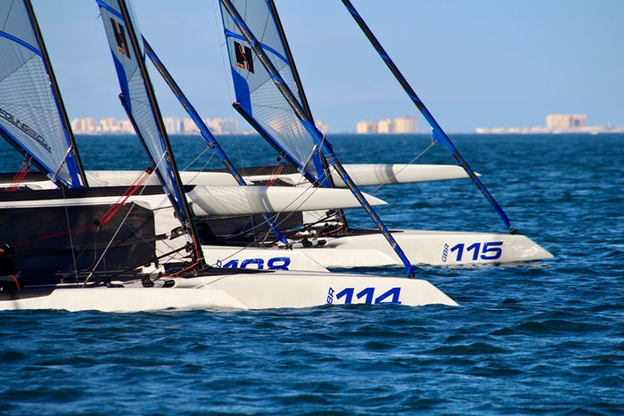 2020 Foiling World F101 Foiling Trimaran Photo 4 of 4