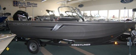 2020 Crestliner 1700 Vision WT Photo 3 of 21