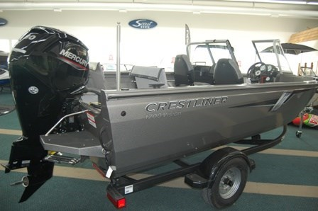 2020 Crestliner 1700 Vision WT Photo 4 of 21