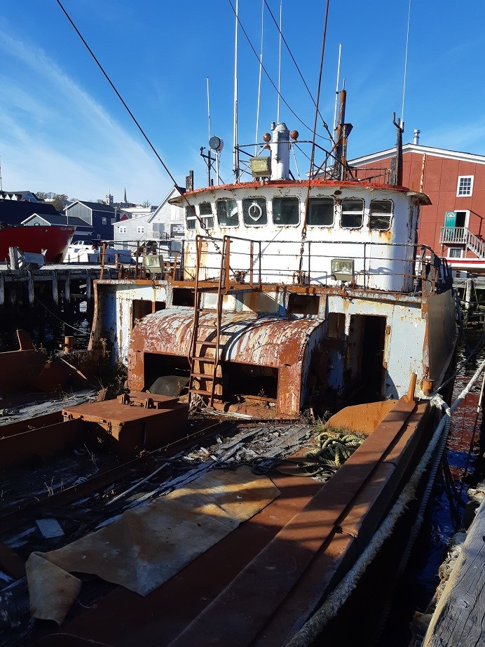 1963 121′ x 26.5′ Steel Hull Scallop Dragger – PROJECT BOAT Photo 6 sur 17