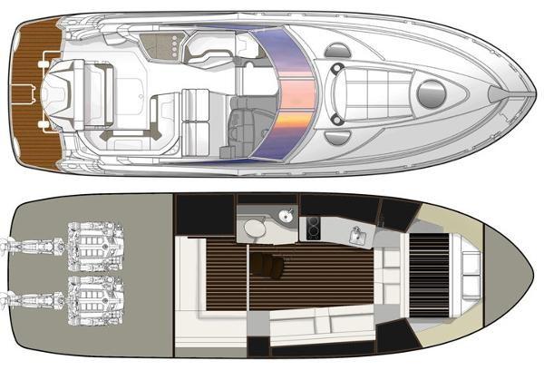 2016 Monterey 355 Sport Yacht Photo 21 of 38