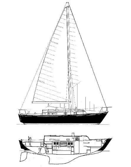 1978 Ontario Yachts 32 Photo 17 sur 18