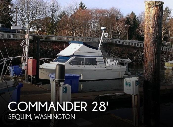 1988 Commander Sport Fisherman Photo 1 sur 21