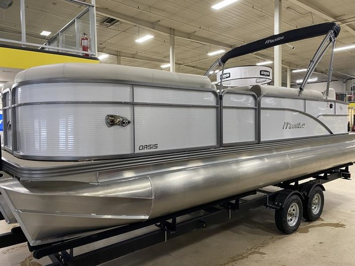 2020 Manitou Oasis Angler 22 Full Front Photo 20 of 25