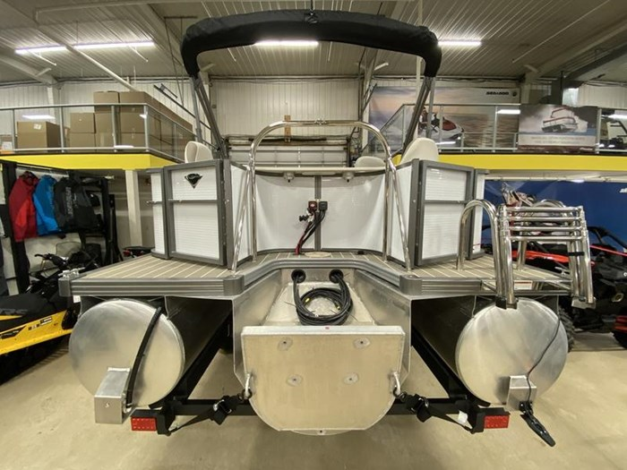 2020 Manitou Oasis Angler 22 Full Front Photo 22 of 25