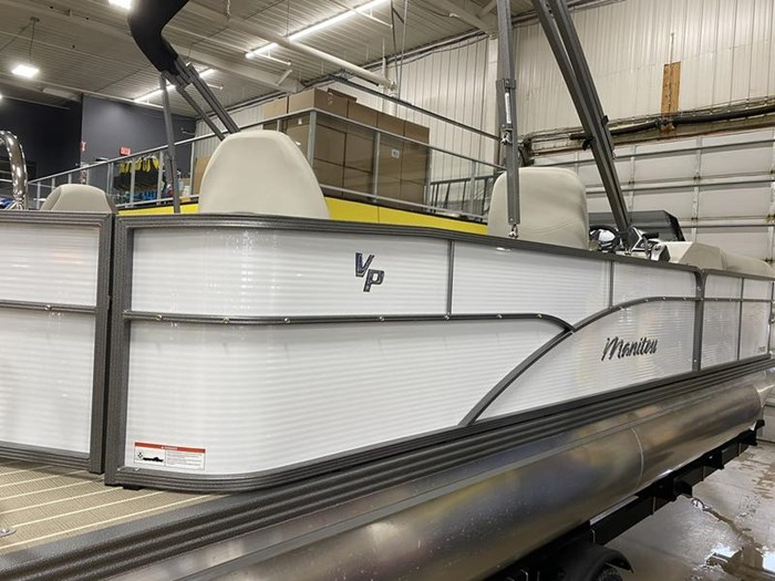 2020 Manitou Oasis Angler 22 Full Front Photo 24 of 25