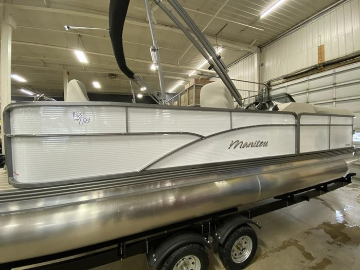 2020 Manitou Oasis Angler 22 Full Front Photo 25 of 25