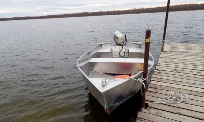 2020 New 15′ x 68″ Aluminum Work/Fishing Tiller Boat Photo 5 sur 5