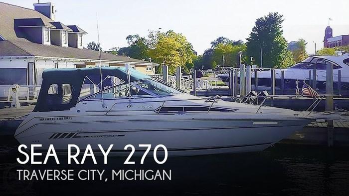 1993 Sea Ray 270 Sundancer Photo 1 of 14