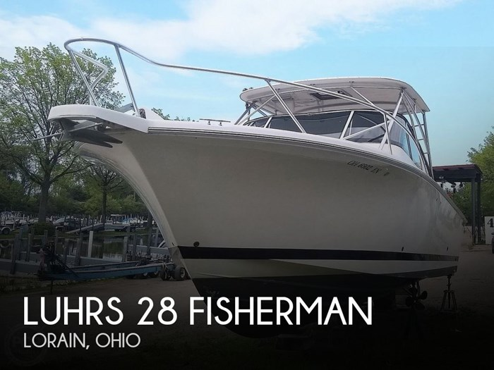 2006 Luhrs 28 Fisherman Photo 1 sur 20