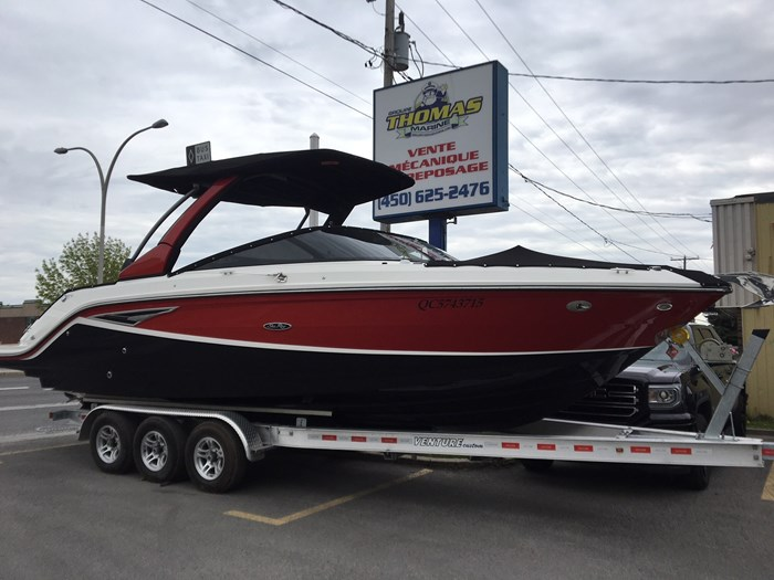 2017 Sea Ray 280SLX 8.2MAG DTS ECT BR3 380 Photo 1 of 11