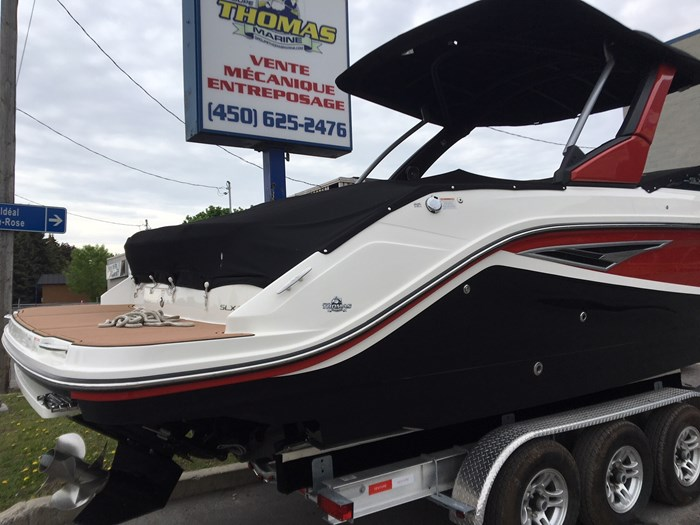 2017 Sea Ray 280SLX 8.2MAG DTS ECT BR3 380 Photo 3 of 11