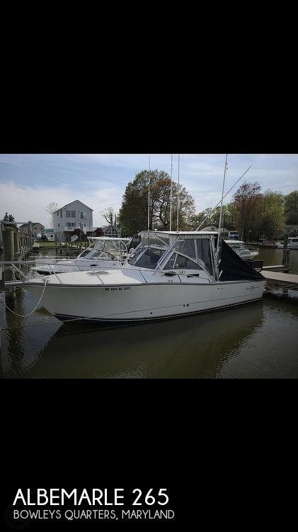 265 Express Fisherman