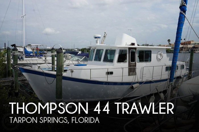 1977 Thompson 44 Trawler Photo 1 sur 20