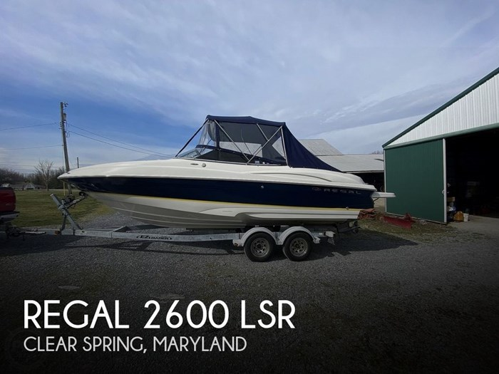 2005 Regal 2600 LSR Photo 1 sur 20