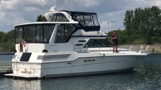 1987 Sea Ray 410 aft cabin Photo 22 of 35