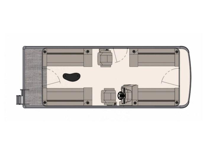 2020 Avalon Venture Quad Lounger 22 FT Photo 1 of 1