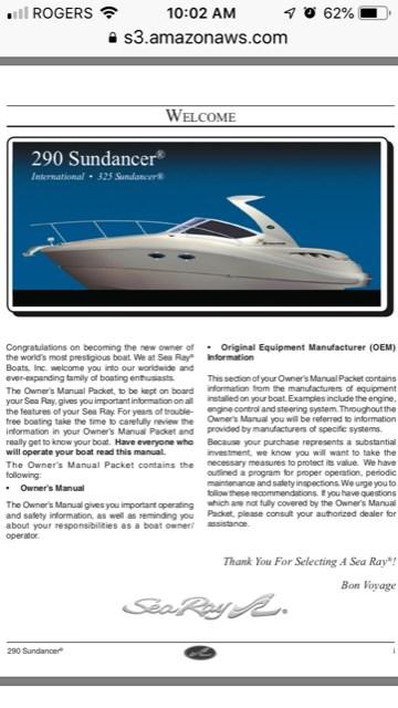 2007 Sea Ray Sundancer 290 Photo 31 of 31