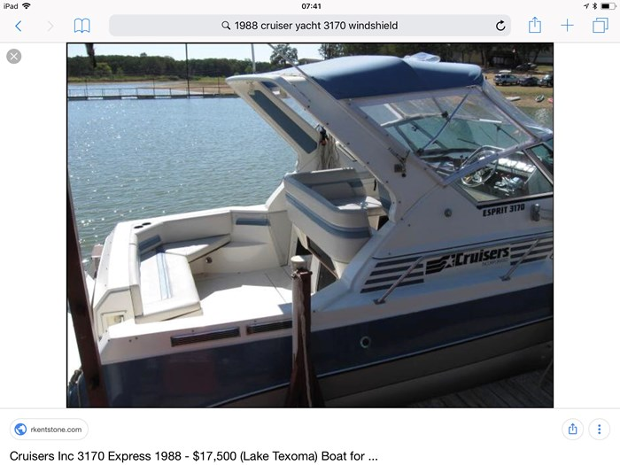 1988 Cruisers Yachts 3170 esprit Photo 8 of 9