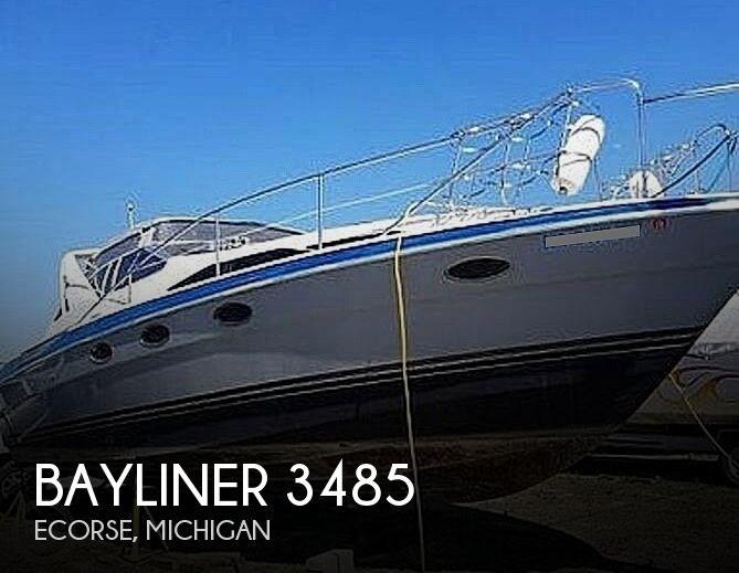 1989 Bayliner 3485 Avanti Sun Bridge Photo 1 sur 11