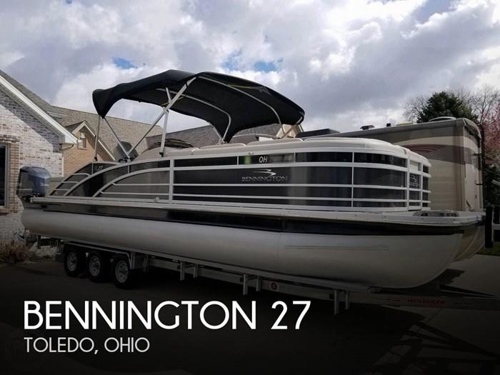 2017 Bennington 27 RSB X2 Photo 1 sur 21