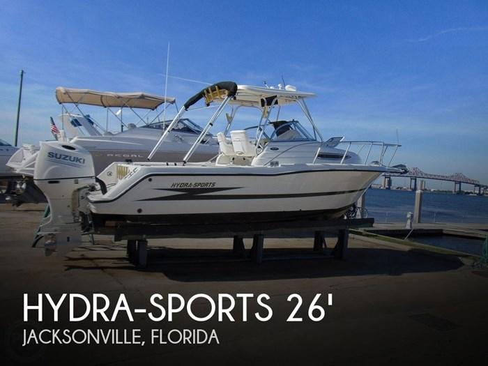 1999 Hydra-Sports Vector 2650 WA Photo 1 sur 20