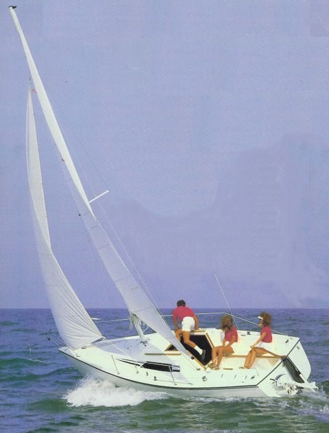 1986 Hunter 23 sloop Photo 1 of 4