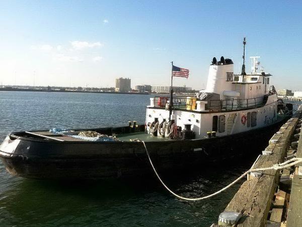 1956 Tugboat Gulfport Shipbuilding Co. Photo 1 of 24