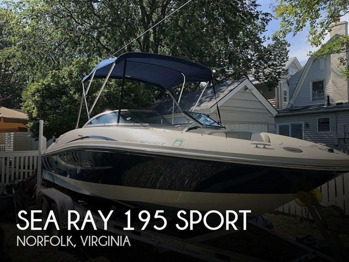 2008 Sea Ray 195 Sport Photo 1 sur 20