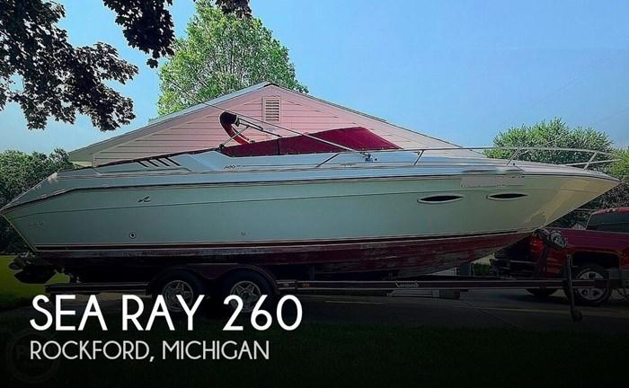 1989 Sea Ray 260 Cuddy Cabin Photo 1 sur 20