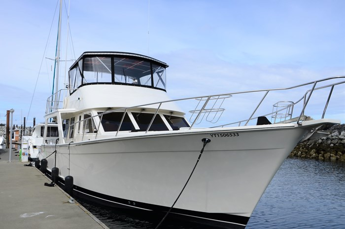 1997 Offshore Yachts 52 Sedan Photo 3 sur 67