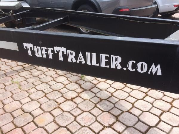 2008 TUFF Steel Dual Axel Trailer Photo 4 of 6