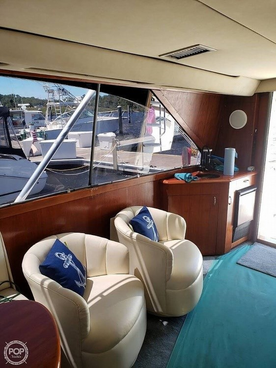 1993 Ocean Yachts 42 Super Sport Photo 8 sur 20