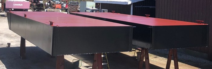 2021 2021 24′ x 16'6 x 30″ Sectional Barge - BACK IN STOCK! Photo 1 of 5