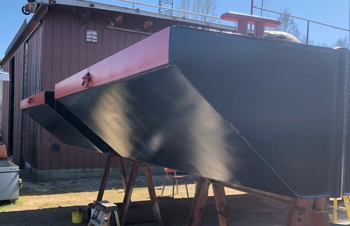 2021 2021 24′ x 16'6 x 30″ Sectional Barge - BACK IN STOCK! Photo 3 of 5