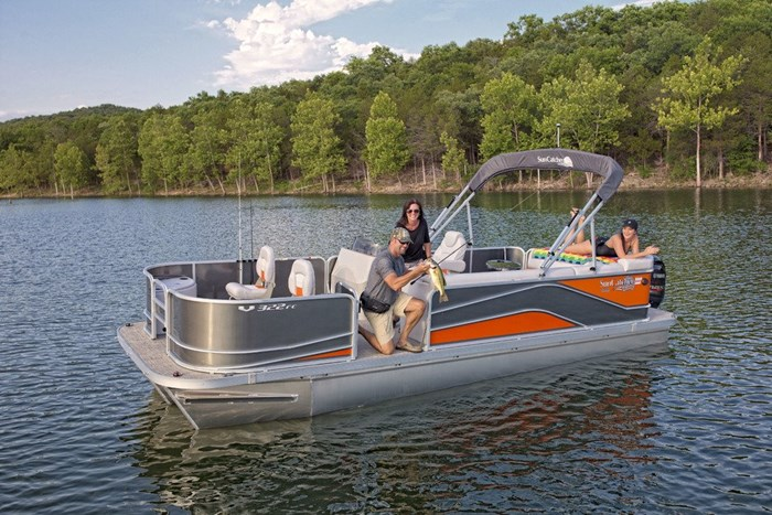 2019 SunCatcher Pontoons by G3 Boats V22 FC | V322 FC Photo 4 of 4